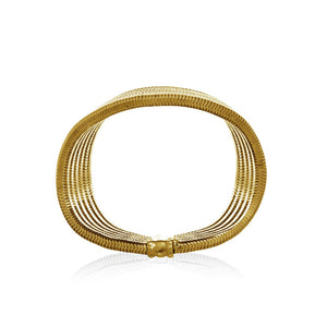 Galaxy Bangle <br /> Brass