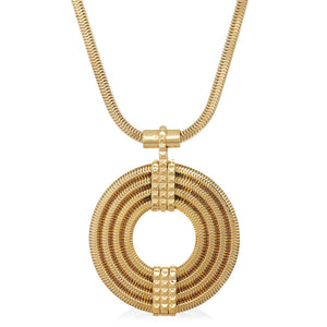Apollo Pendant <br /> 22ct Yellow Gold on Brass