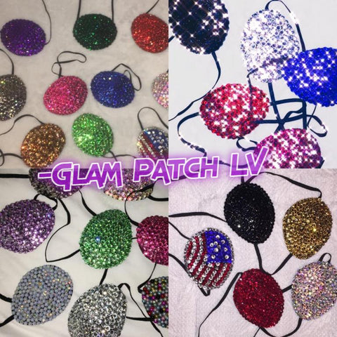 Glam Patch Custom Made Medical Padded Eye Patches