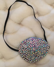 Black Eye Patch Bedazzled In Luxury Crystal AB