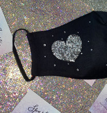 Sparkly Bling Face Mask With Swarovski Crystals