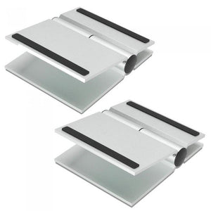 Soundxtra Universal Speaker Stands Large - Silver - Pair