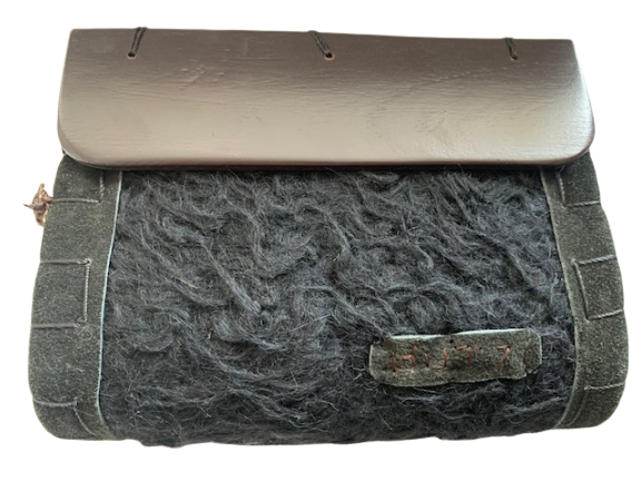 Dutzi Wood  Wool Clutch