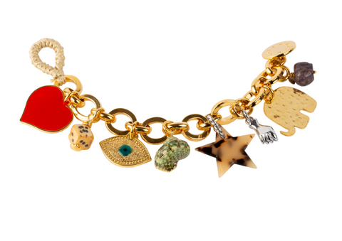 Treasures Multicharm Bracelet