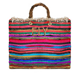 Gipsy Boho Shopper Bamboo Handles(Customizable)