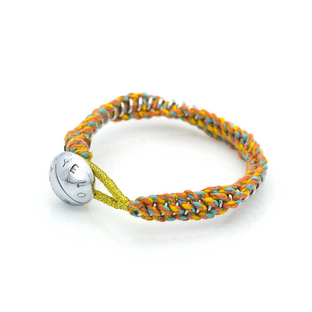 Spiral Orange/Yellow Bracelet