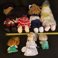 Precious Moments Doll Collection of 7