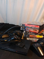 PS2 Slim System with Games