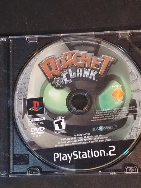 Ratchet and Clank PS2 Game