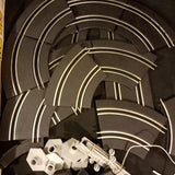 Slot car racing set 9ft track made by champion