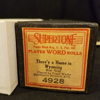 Original Piano Roll - Have You Ever Been Lonely Supertone 4872 Bonnie Bergstrom