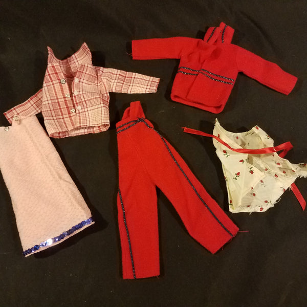 Vintage Barbie Clothes Unlabeled Lot #2