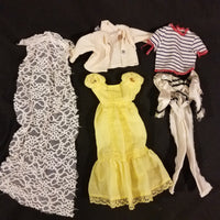 Vintage Barbie Clothes Unlabeled Lot #4