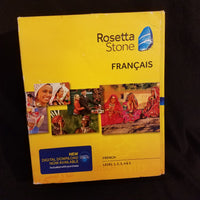 Rosetta Stone French Level 1, 2, 3, 4 & 5