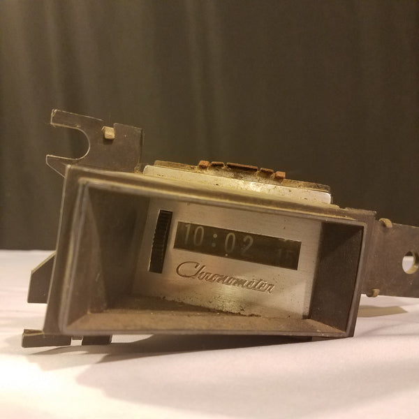 Chrysler Chronometer Flip Numbers 1960s Dash Mounted Instrument