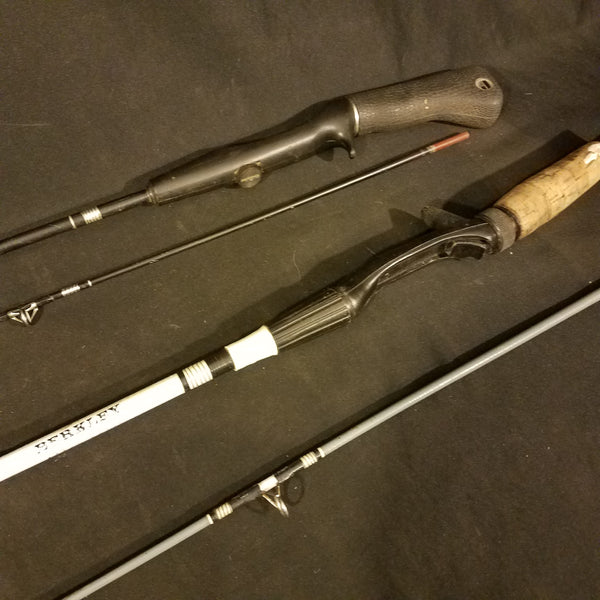Berkeley and Johnson Fishing Rods Vintage 2 Piece