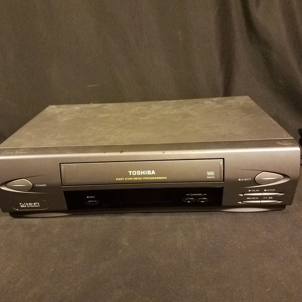 Toshiba VHS Player Hi-fi stereo video recorder