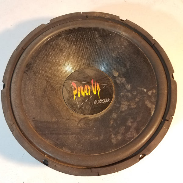 Subwoofer 4 oms 125 watts the crunch power up series speaker