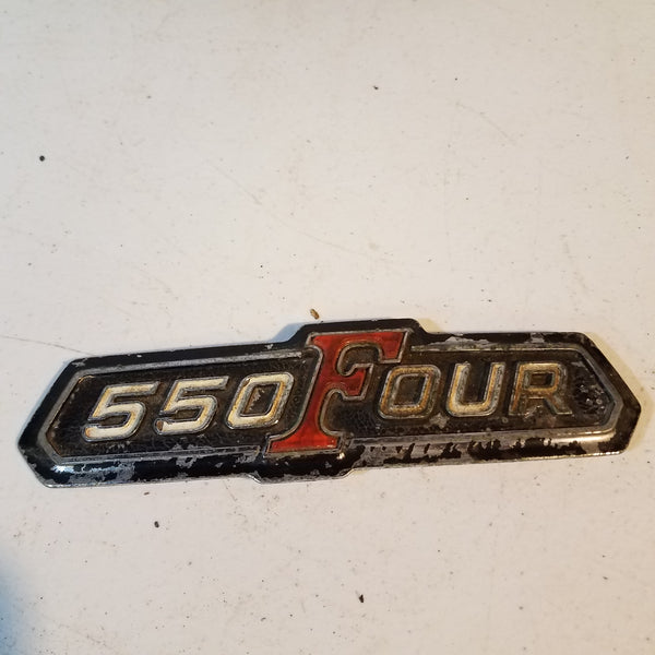 550 Four honda badge emblem