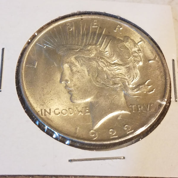 Peace Dollar 90% Silver US Coin