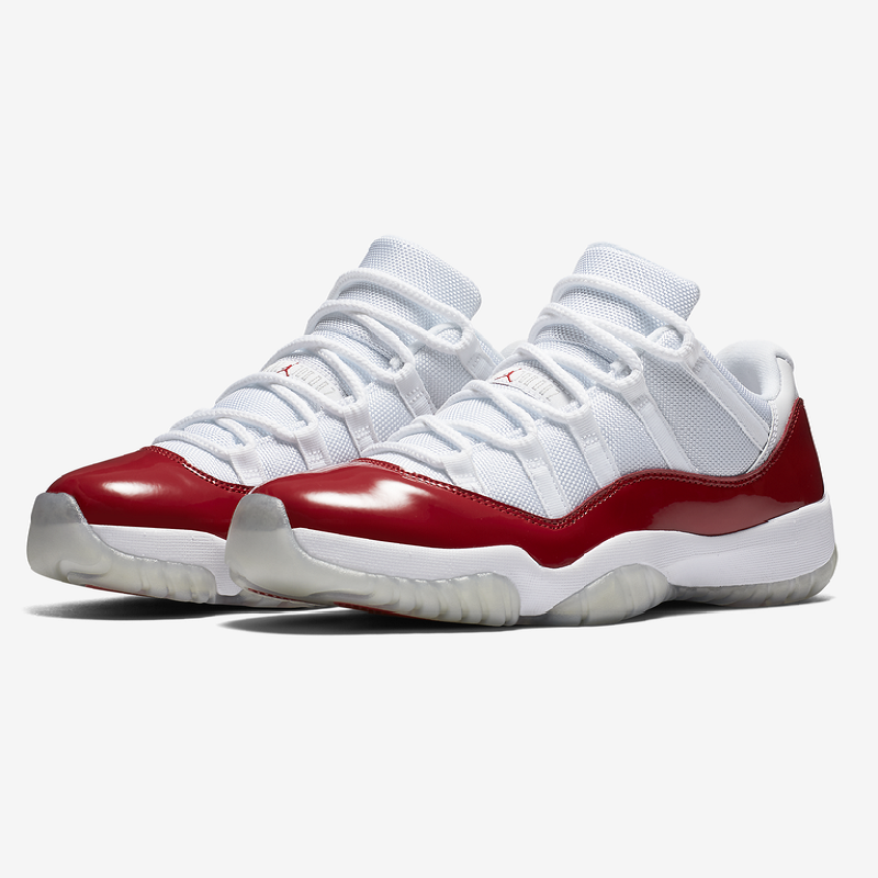 new arrivals bea8c 2ced2 Air Jordan 11 Low Varsity Red White Shoes