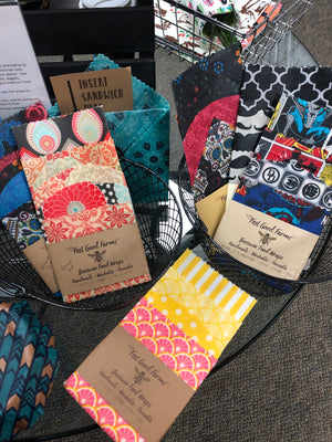 Beeswax wraps are going to save the world!