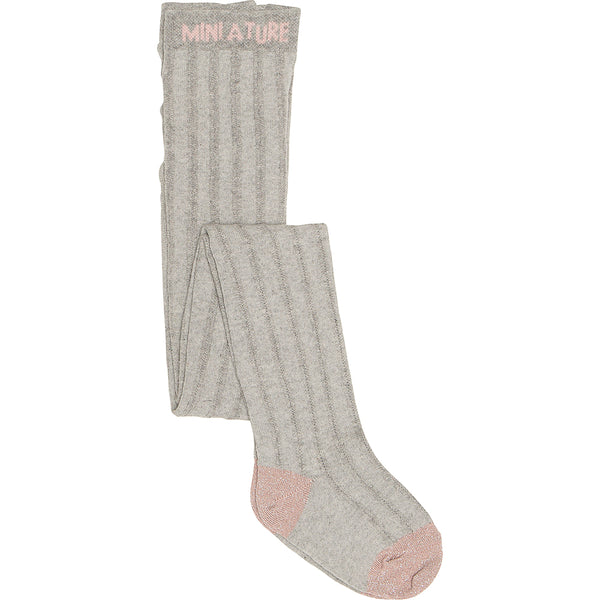 Elis Stocking - Grey Melange