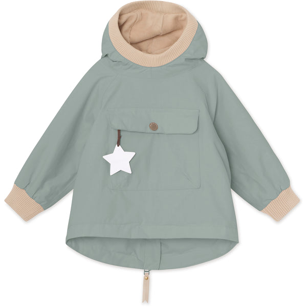 Baby Vito Fleece Anorak - Chinois Green