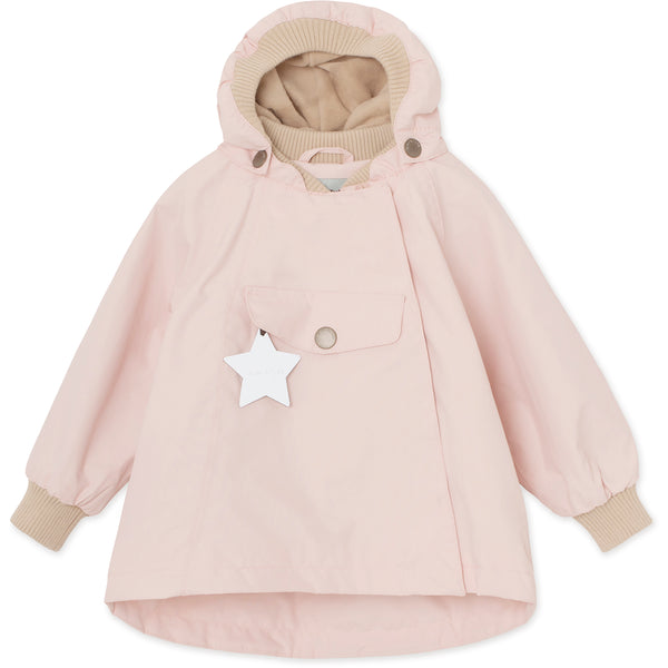 Wai Fleece Forårsjakke - Strawberry Creme