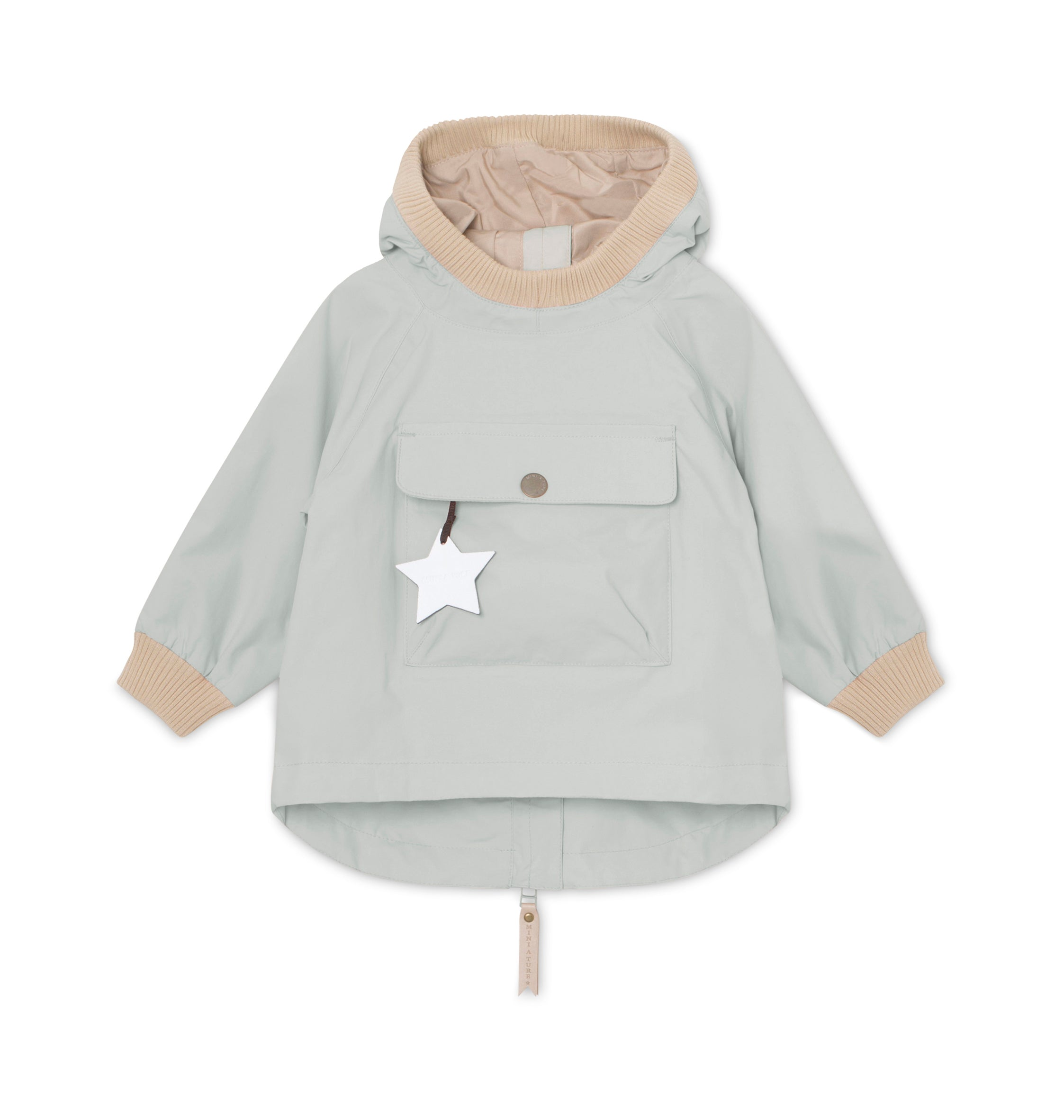 Image of Baby Vito Anorak - Puritan Grey