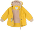 Wally Fleece Forårsjakke - Bamboo Yellow