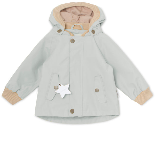 Wally Fleece Forårsjakke  - Puritan Grey