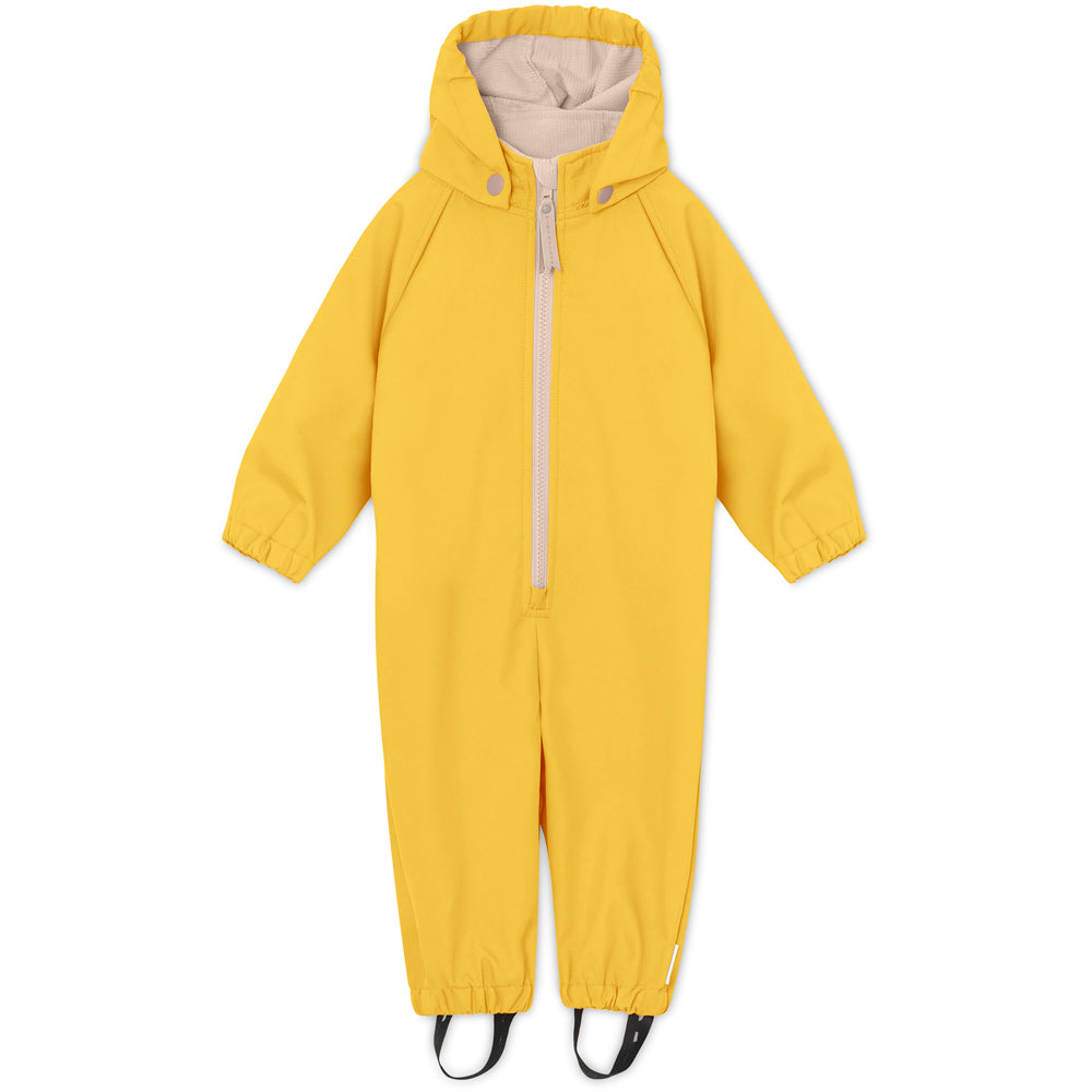 Image of   Arno Softshell dragt - Bamboo Yellow