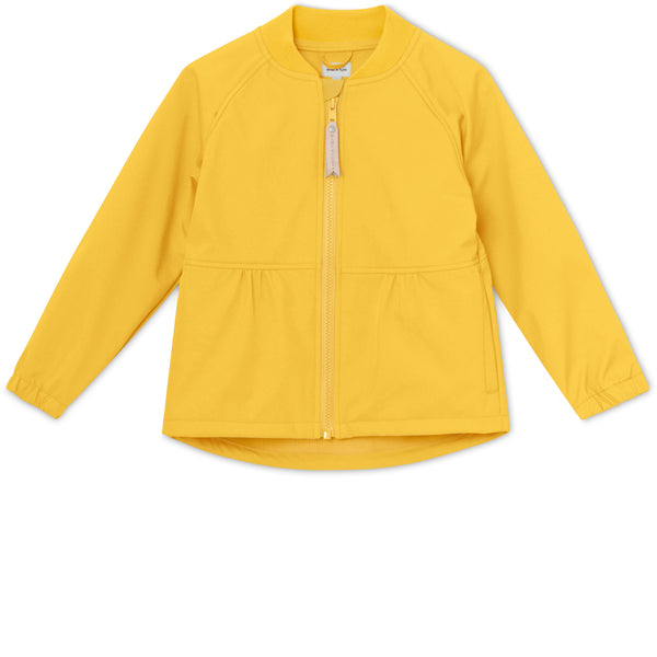 Bridget Softshell Jakke - Bamboo Yellow