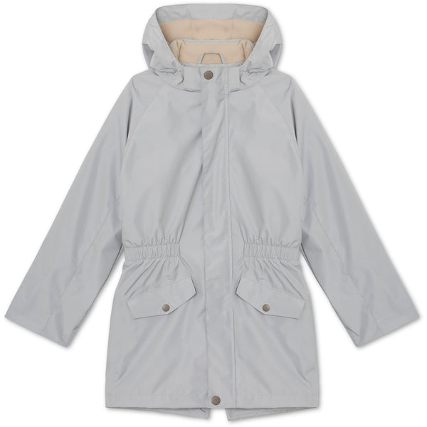 Vilde jakke med fleece - Moon Grey