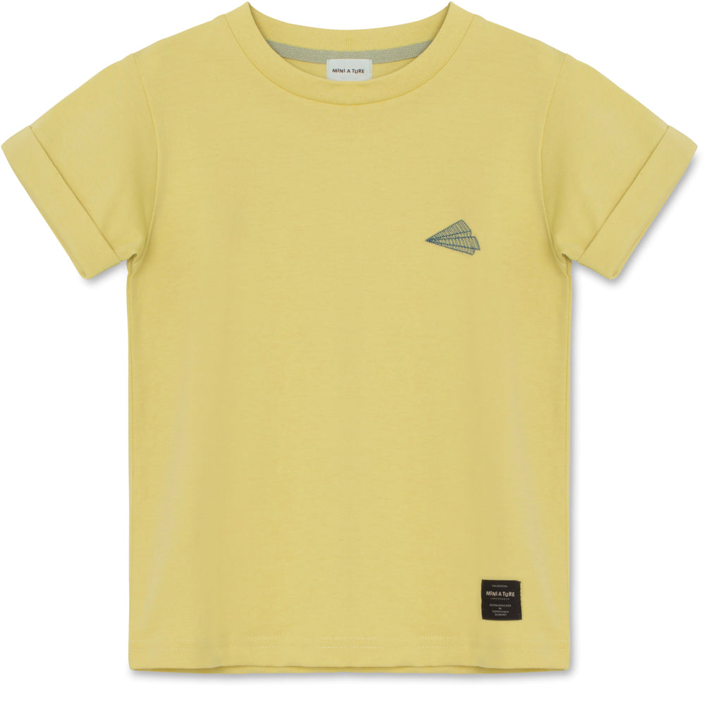 Image of   Charley T-shirt GOTS - Endive Yellow