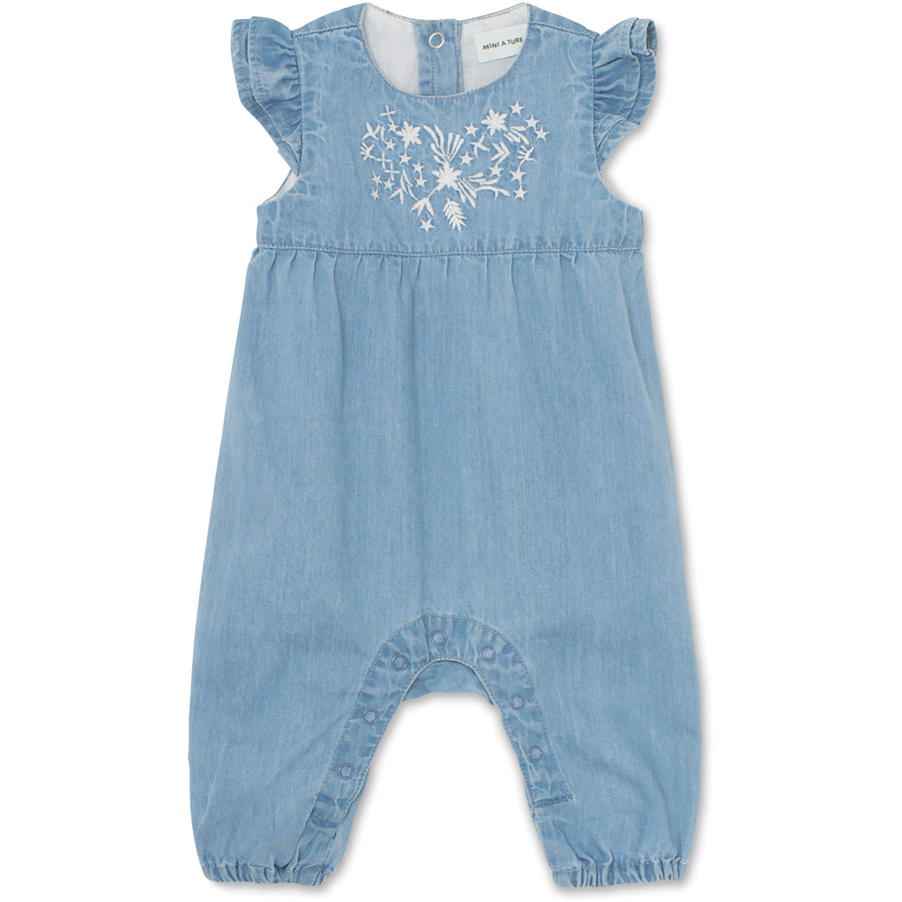 Image of   Annalise Romper - Ashley Blue