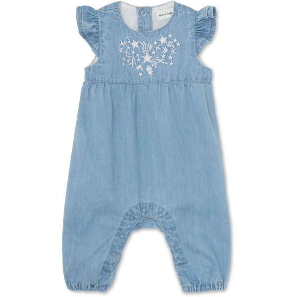 Annalise Romper - Ashley Blue