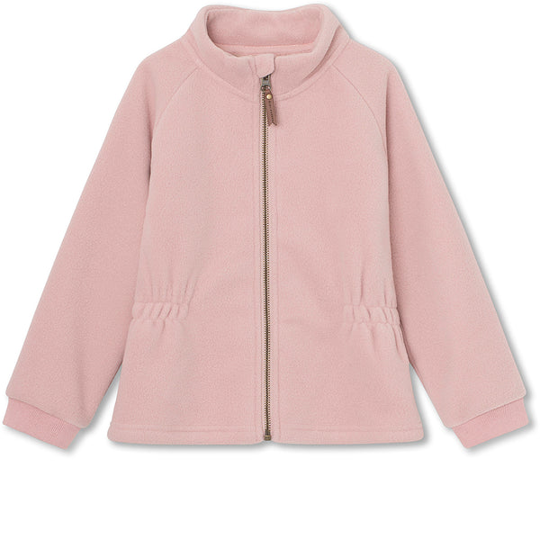 Lola fleece jakke - Pale Mauve
