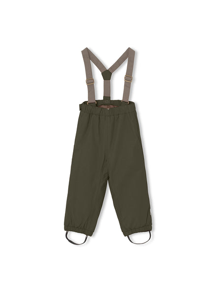 Wilas Suspenders Pants - Forest Night