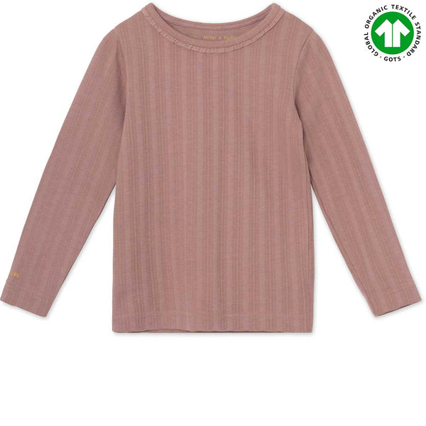 Aje T-shirt GOTS - Light Plum