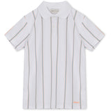 Antonio Football Shirt - White