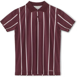 Antonio Football Shirt - Burgundy