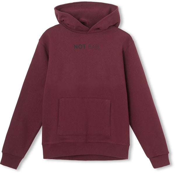 Not Bad Hoodie - Burgundy