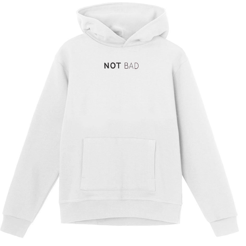 Not Bad Hoodie - White
