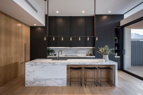 Marble used in kitchen trends in 2020