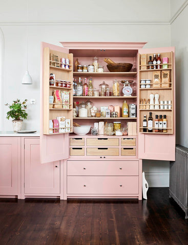 Neptune Larder Cabinet to hide the clutter