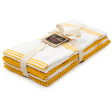 Load image into Gallery viewer, Set of 4 Cotton Terry Tea Towels available in Seven Colours - Sticky Toffee Store