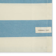 Load image into Gallery viewer, Set of 5 Woven Striped Cotton Tea Towels in Three Colours - Cornwall Chic - Sticky Toffee Store