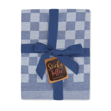 Load image into Gallery viewer, Set of 6 Woven Textured Check Tea Towels in Nine Colours - Sticky Toffee Store